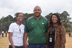 McComb High School Football Team hosts fundamental clinic for Otken Elementary Scholars 2019