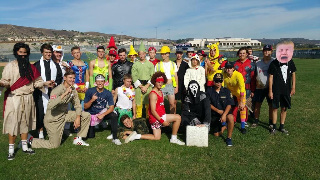 Halloween Costume Whiffle Ball Game