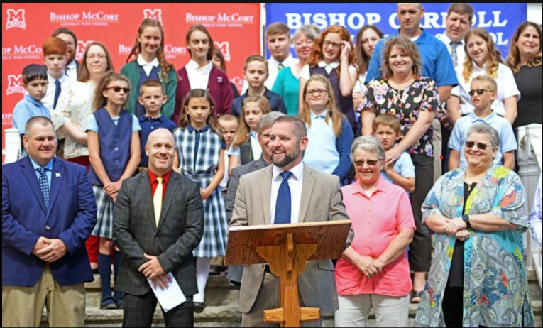 Bishop McCort launches partnership with Bishop Carroll Thumbnail Image