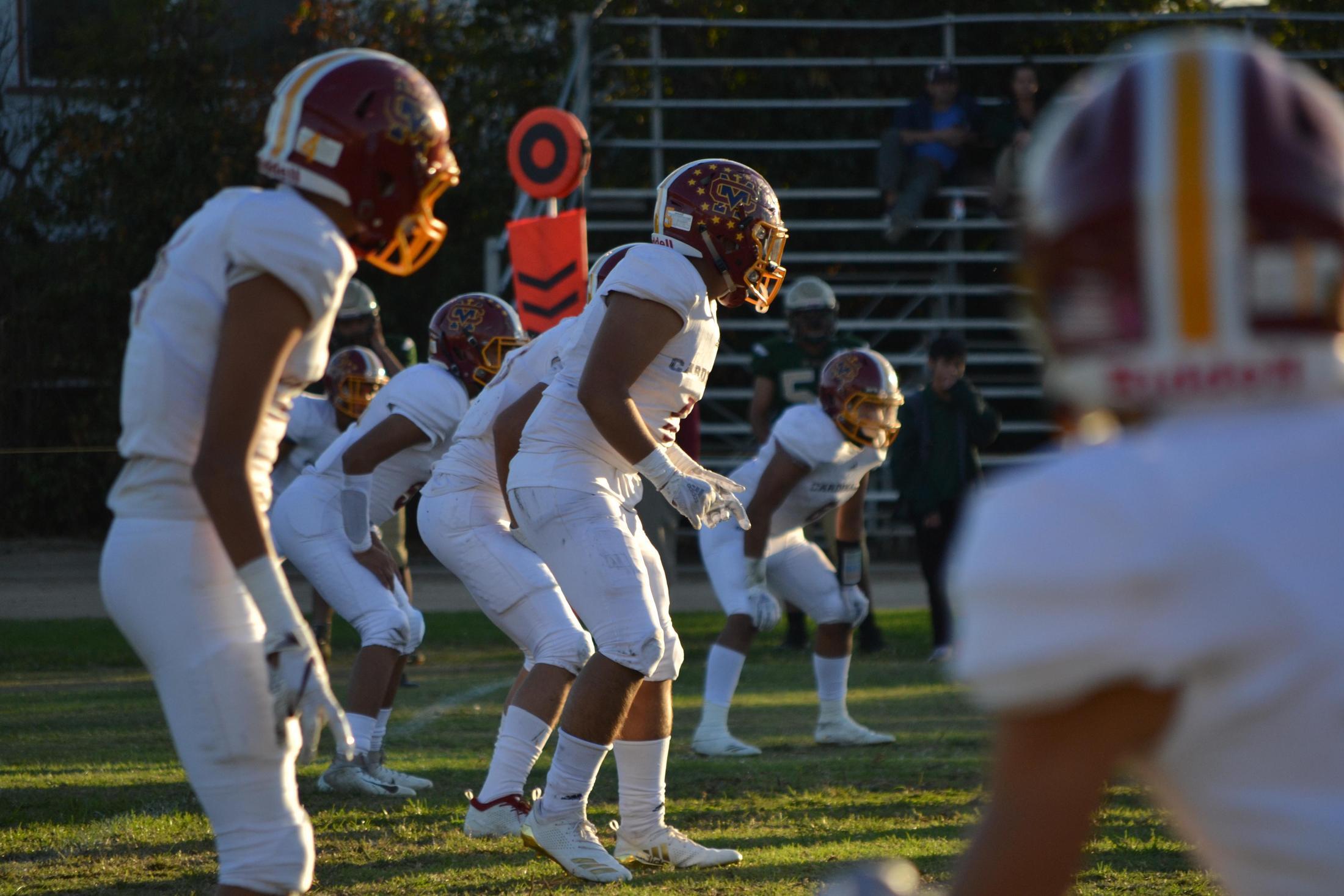 Football Boys Athletics Cantwell Sacred Heart Of Mary High School