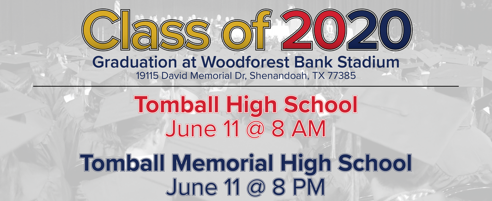 Class of 2020 at Woodforest Bank Stadium