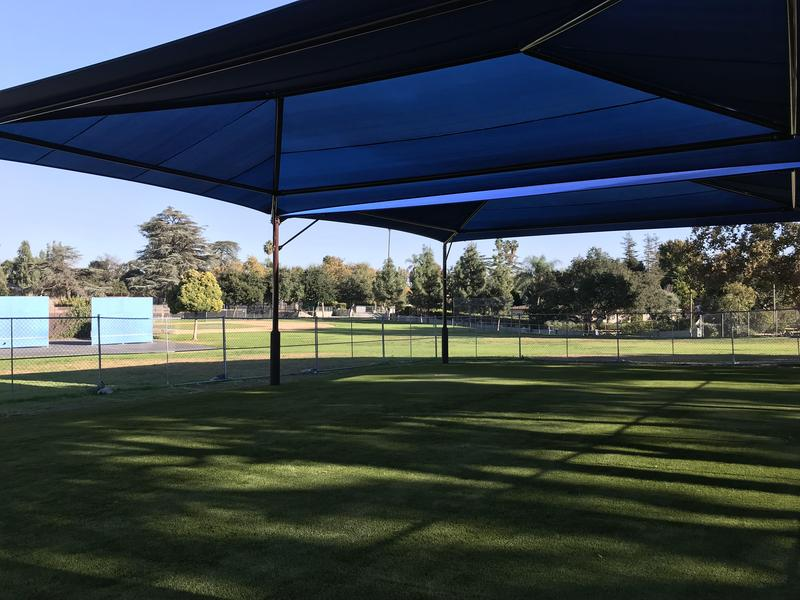 Shade Structure & Turf Complete! Thumbnail Image