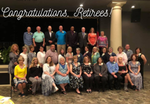 Wilkes County Schools Retirees for 2018-2019