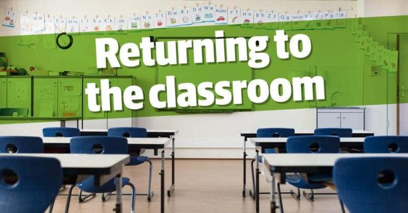 RETURN to IN-PERSON LEARNING Featured Photo