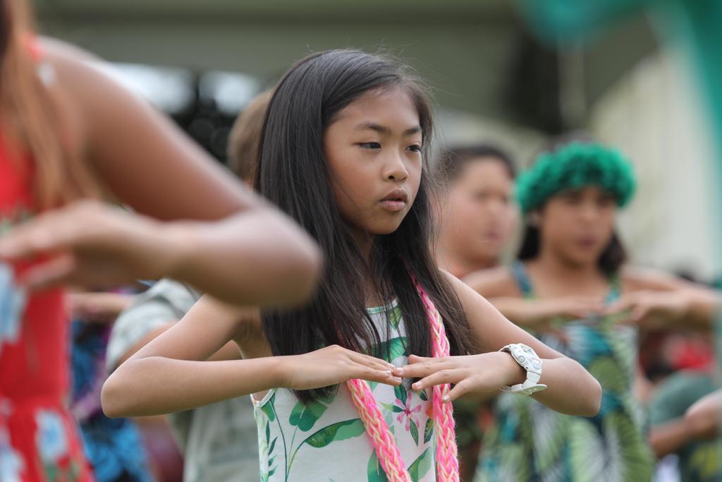 3rd grade girl dancing