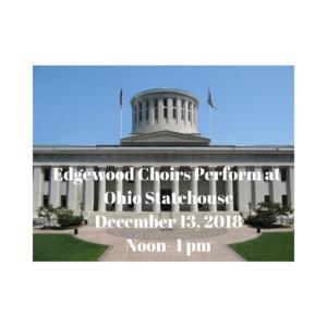 Edgewood Choirs perform at Ohio Statehouse