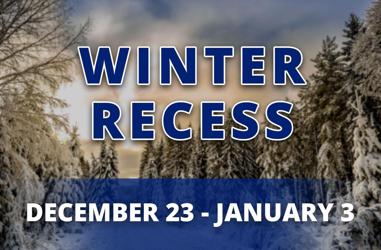 Winter Recess 2019