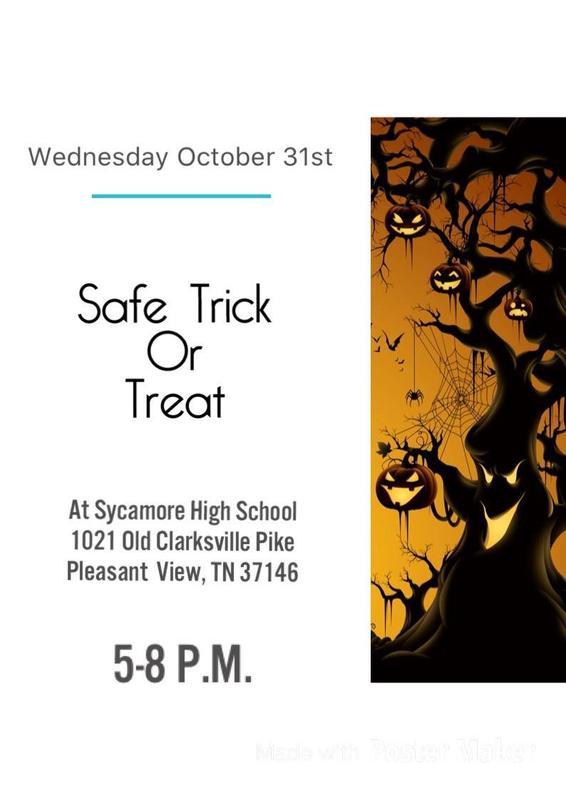 Safe Trick or Treat
