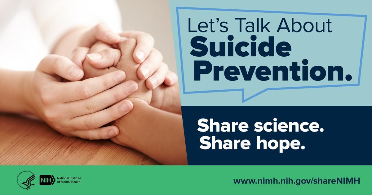 Let's Talk about Suicide Prevention