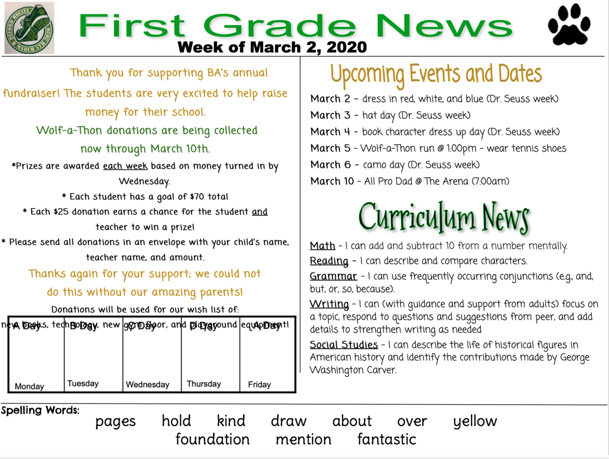 Newsletter English