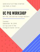 PIQ Workshop Flyer Thumbnail Image
