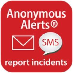 Anonymous Alerts incident reporting