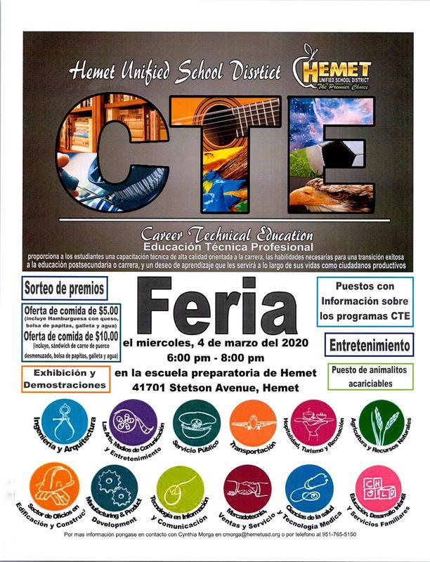 CTE Feria