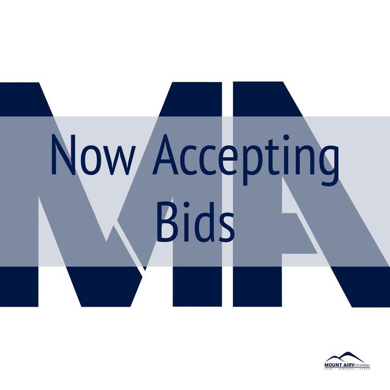 Now Accepting Bids