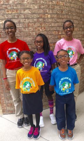 kids in GVA uniforms