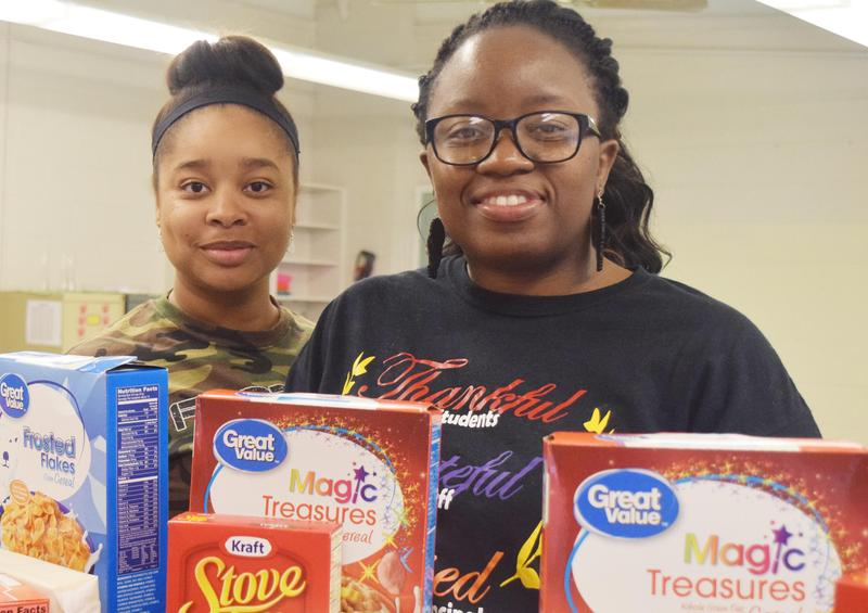 Food Drive at Frazier Exceeds Goal Thumbnail Image