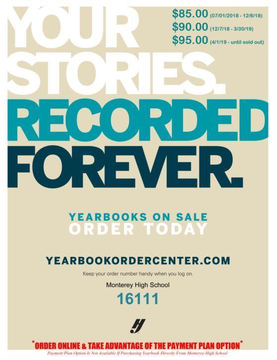 Yearbook Order Center Info