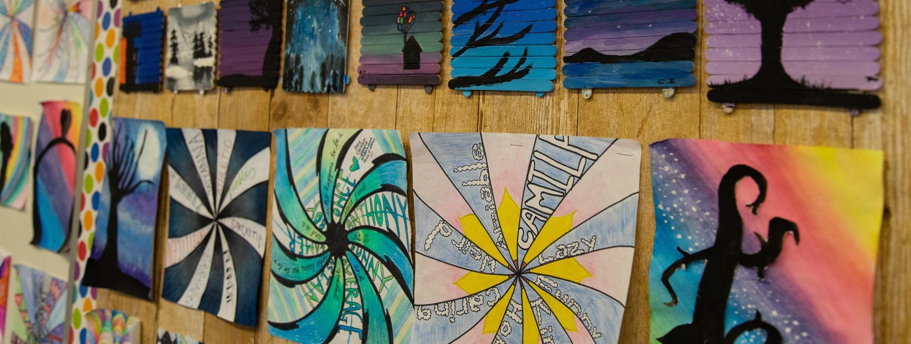 Marguerita school art work