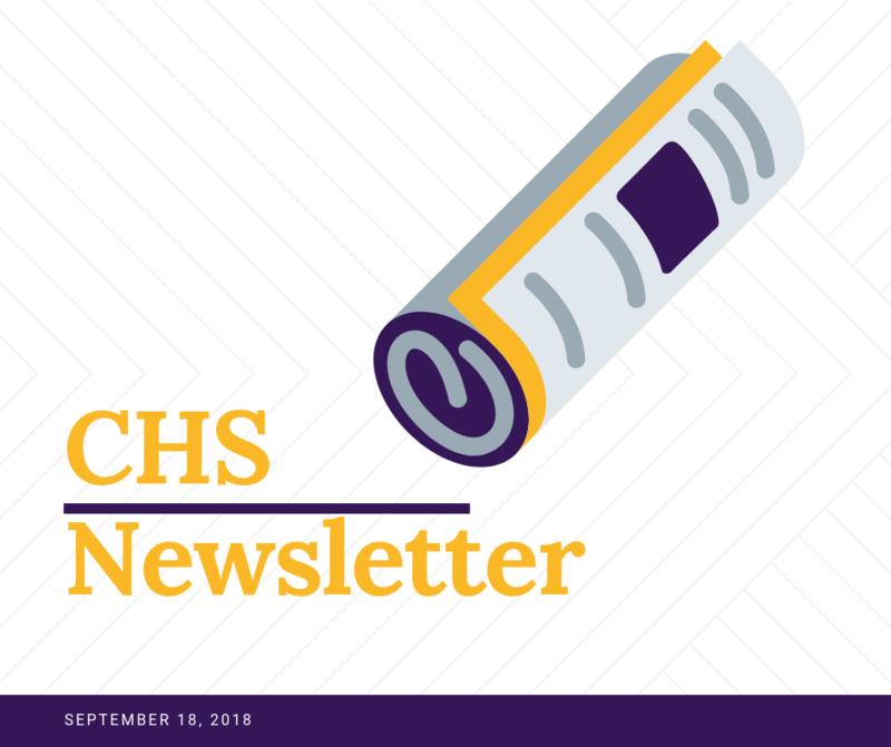 CHS Newsletter Featured Photo
