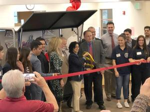 Ribbon Cutting for YLHS Student Store