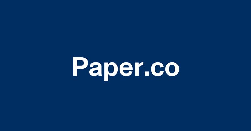 Paper.co graphic.