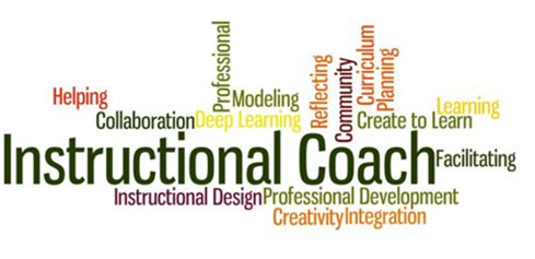 Instructional Coach word graphic