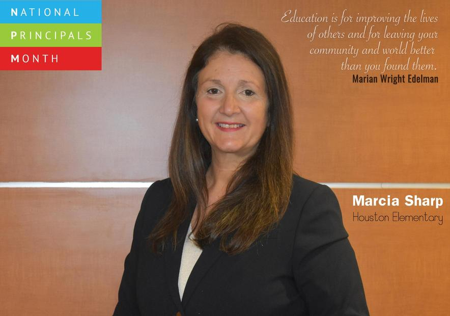 National Principals Month - Marcia Sharp