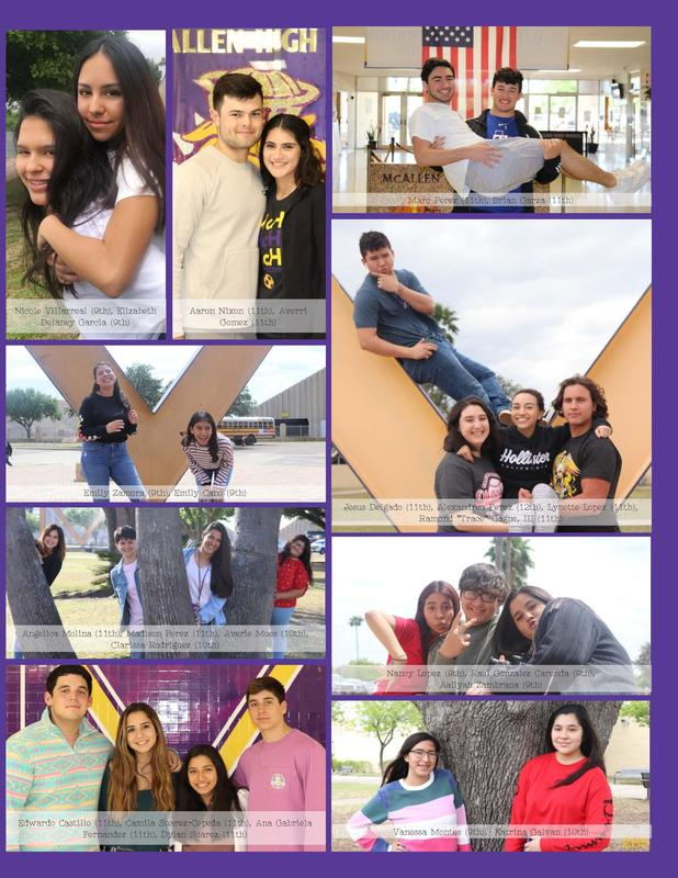 McHi yearbook staff 2