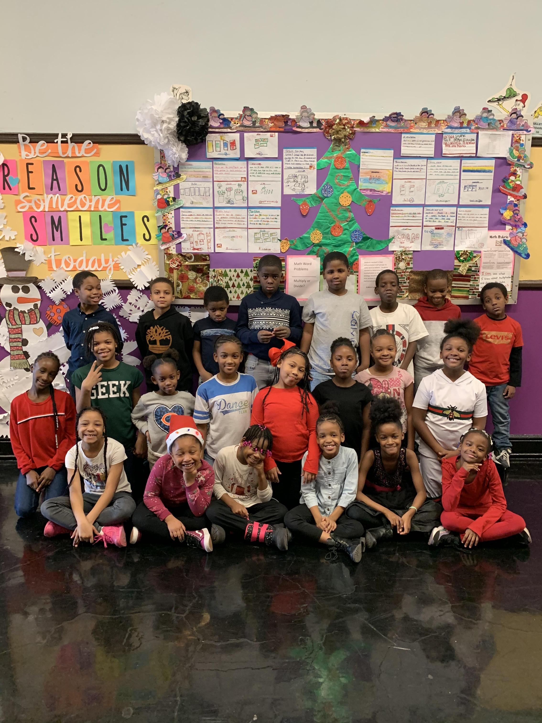 Fantastic Fourth Graders!