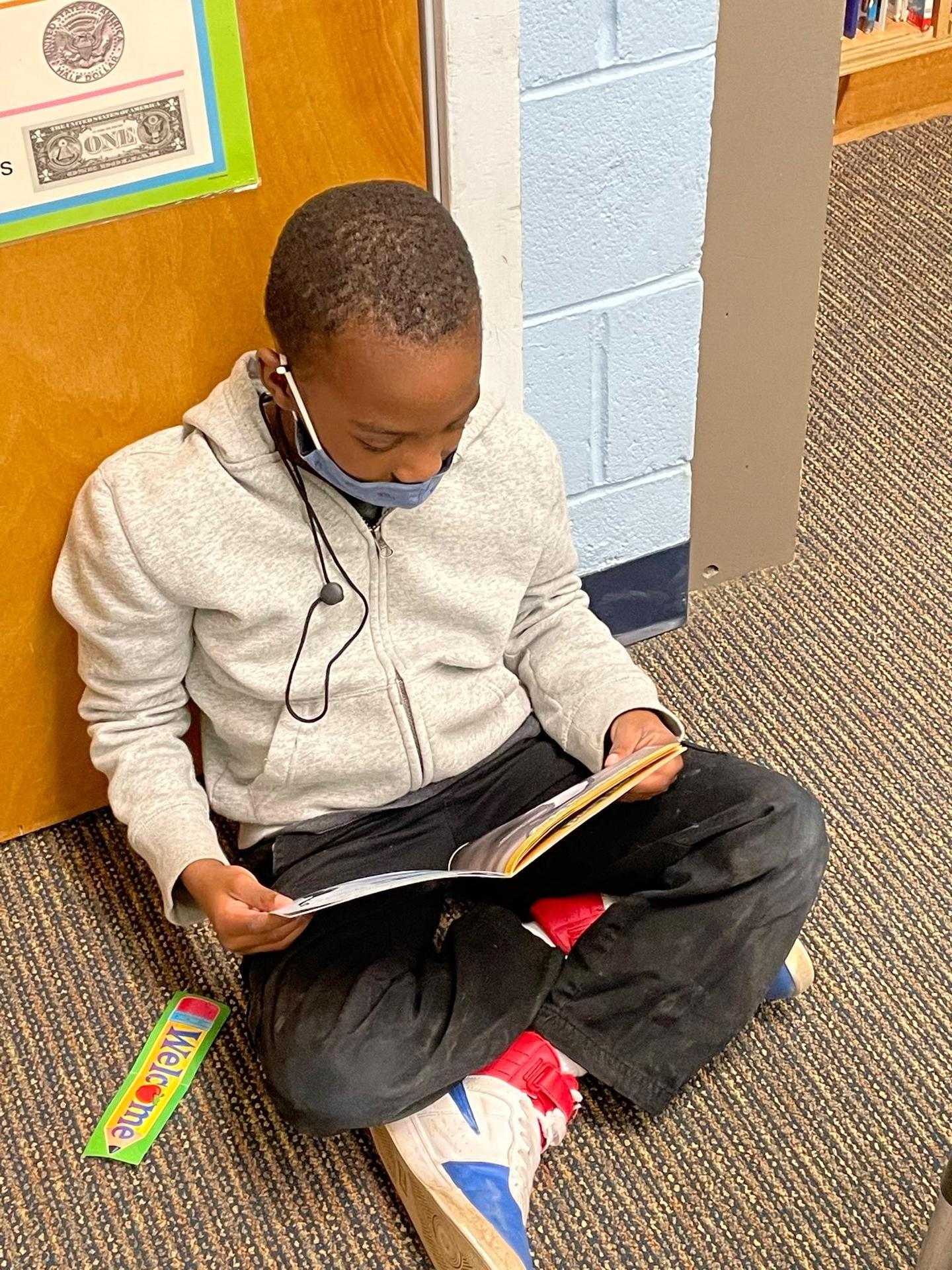 reading in hall