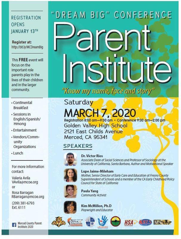 Dream Big Event Flyer