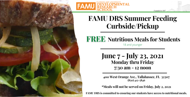 FAMU DRS Continues Free Meal Distribution Featured Photo