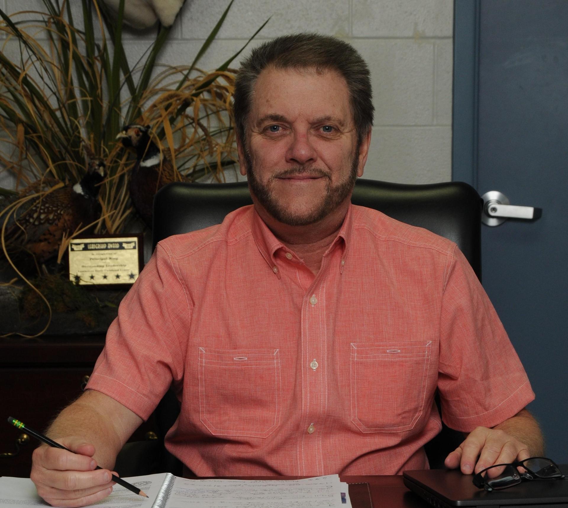 Principal Kevin Wing