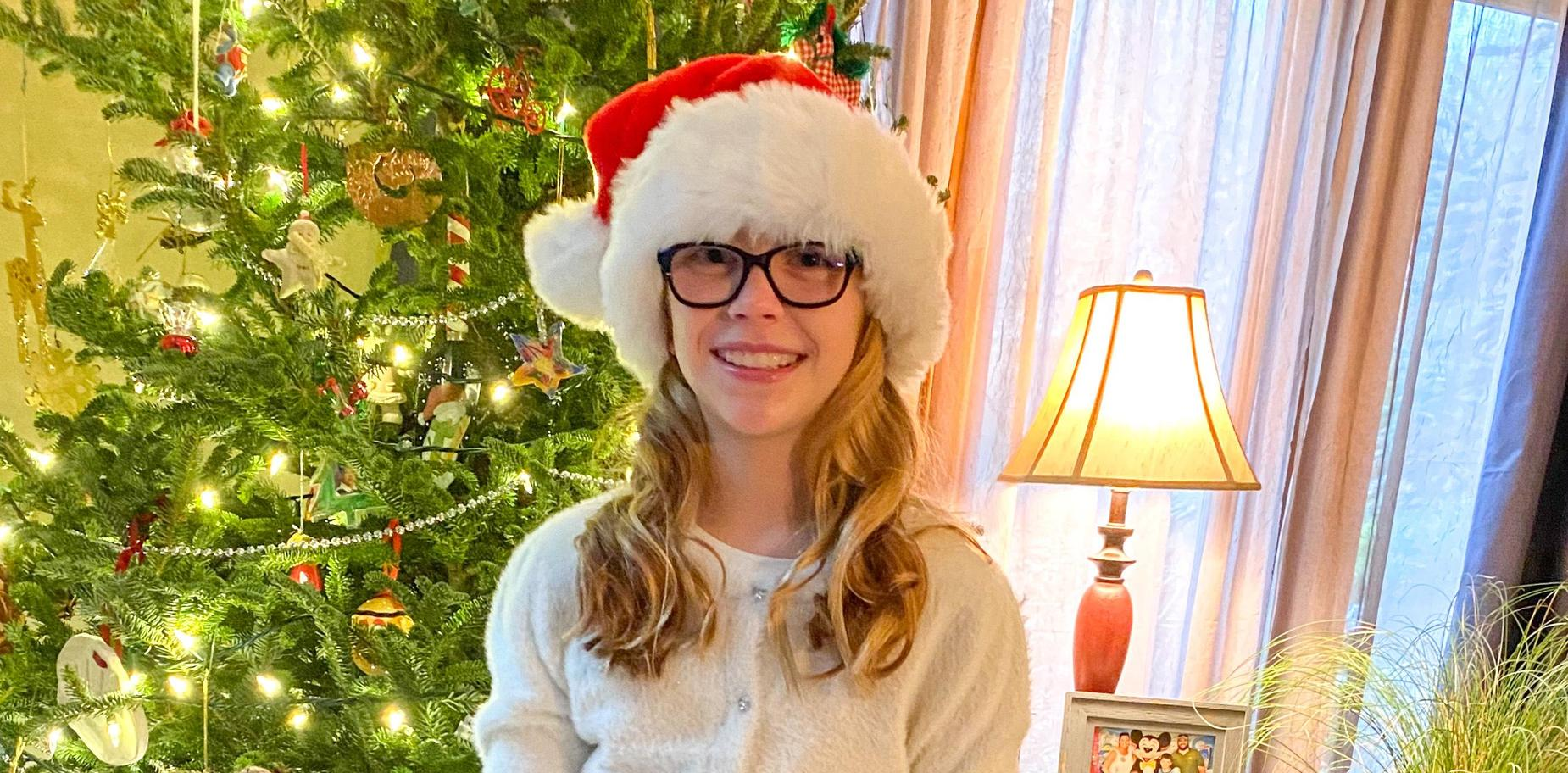 pic of student in holiday attire