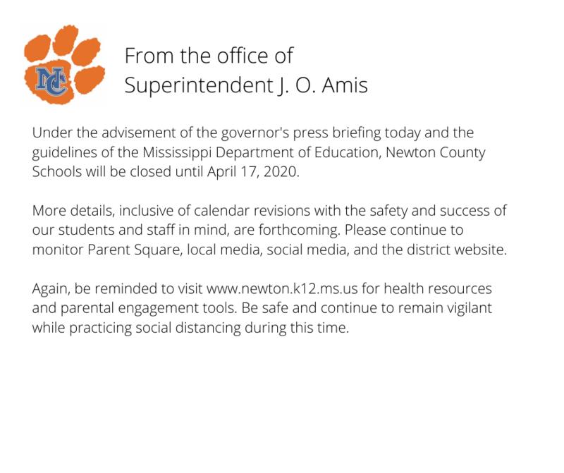 School Closure Notification