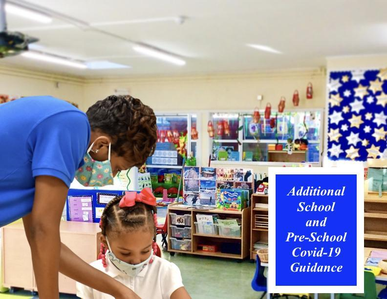 Additional School and Preschool COVID-19 Guidance Featured Photo