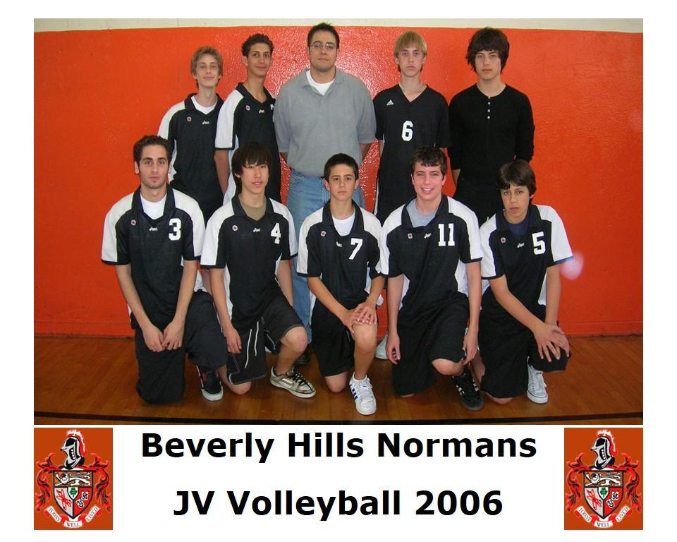2006 JV volleyball