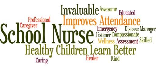 school nurse word jumble