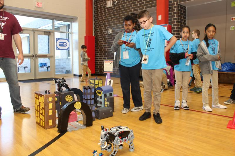 SGE Places 1st, 2nd, & 3rd in MISD Robotics Expo Thumbnail Image