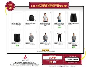Order PE Clothes now for the 18-19 School year. ACCESS CODE LCPE4 Featured Photo