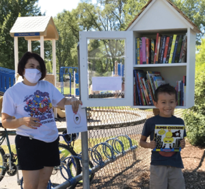 Mundelein school districts and park district collaborate to bring new Little Free Library to the community