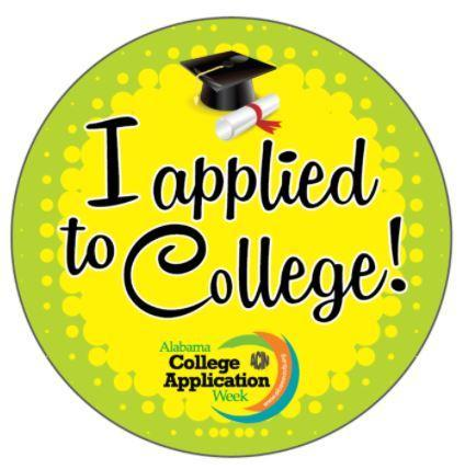 I Applied to College Sticker Image
