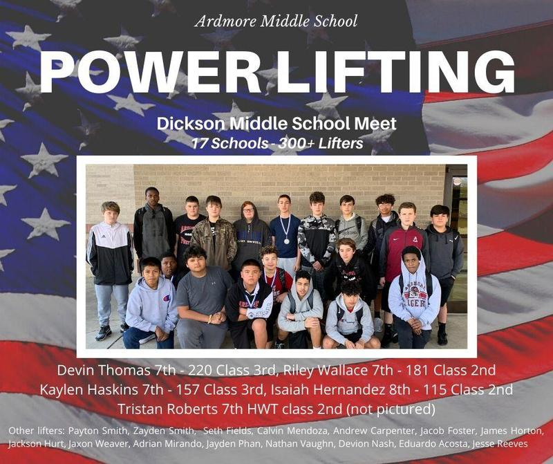 AMS Power Lifting Featured Photo