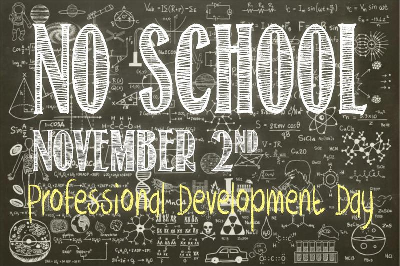 no school November 2nd