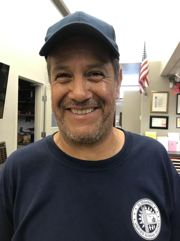 Victor Morales, ESMS custodian