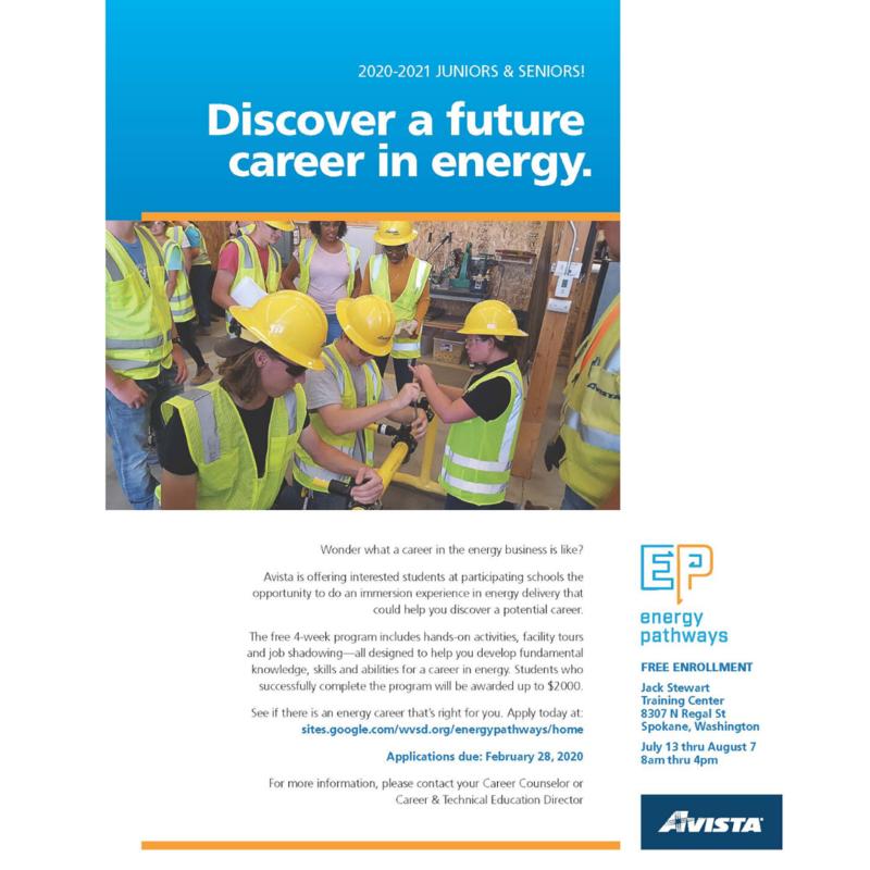 Energy Pathways flyer