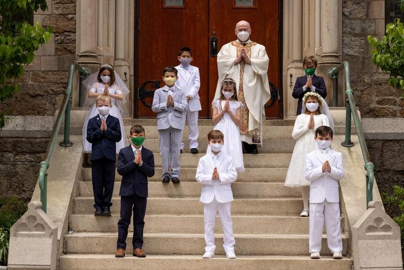 First Communion Held at St. Columbkille Church Featured Photo