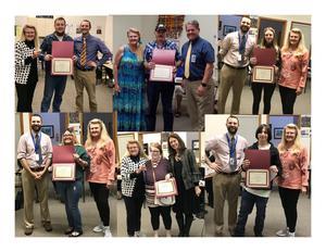 collage of adult education graduates