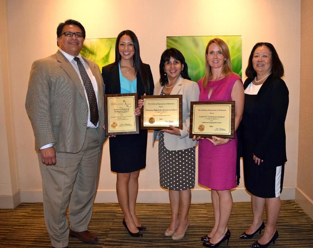 Awards for Monterey Highlands School