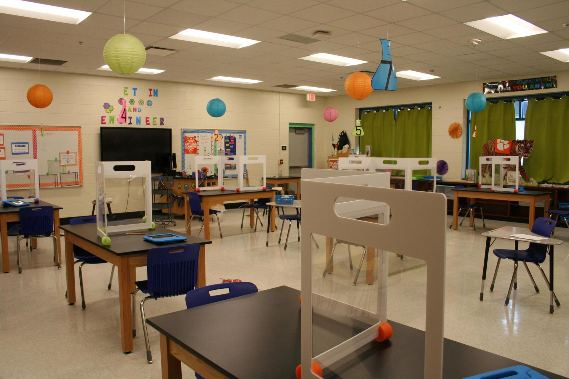Wood Elementary's New Project Lead the Way Classroom